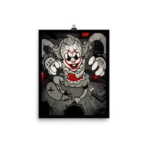 The Dancing Clown of Derry - Poster