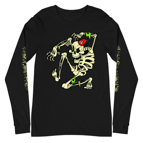 Cobweb Crawlie - Unisex Long Sleeve Tee