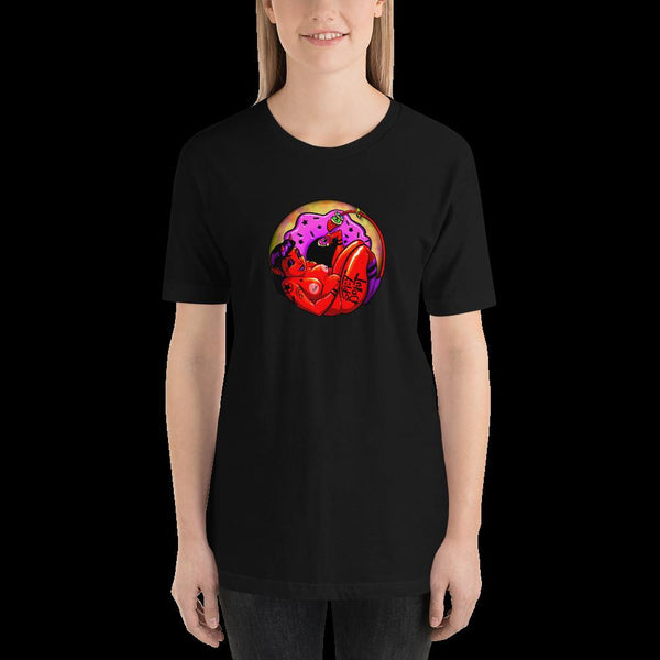 NSFW Devil Donut - Short-Sleeve Unisex T-Shirt