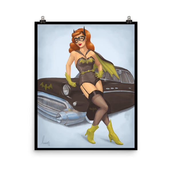 Barb's Bat-mobile Poster