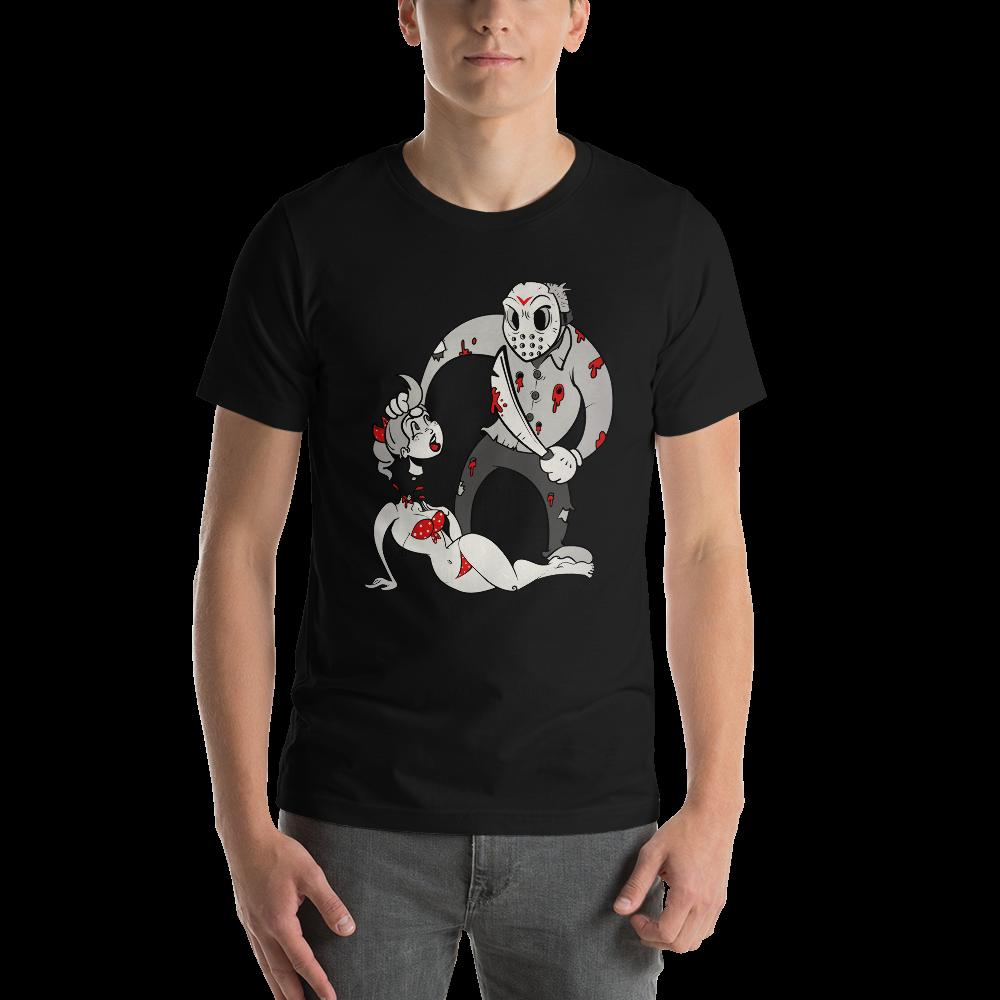 Jason In Toon Town - Short-Sleeve Unisex T-Shirt