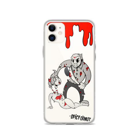 Jason in toon town - iPhone Case
