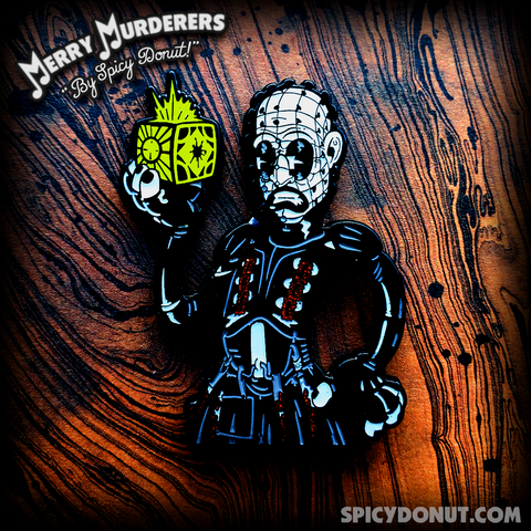 Pinhead's Puzzle Time Enamel Pin