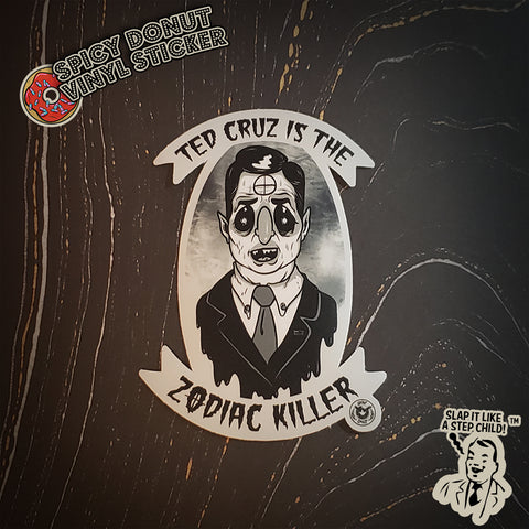 Zodiac Ted Sticker
