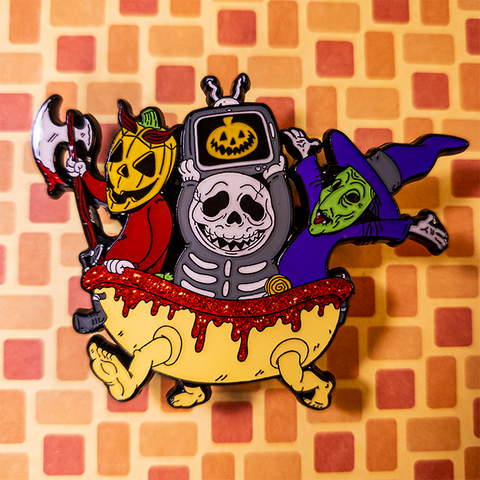 Tis the Season of the Witch Enamel Pin