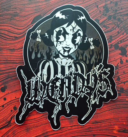 Dark Wendy's Sticker