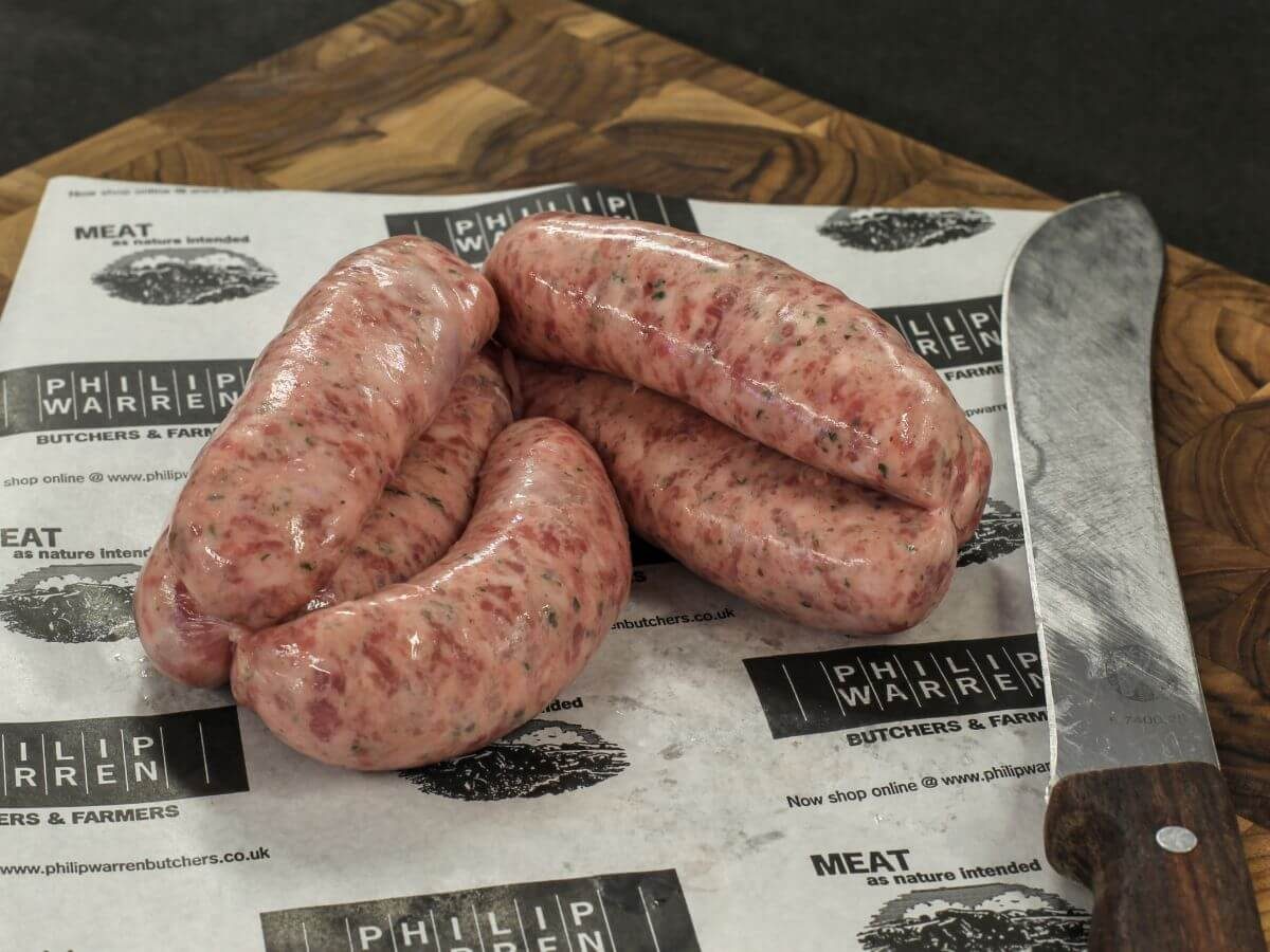 Old Cornish Chunky Sausages (500g)