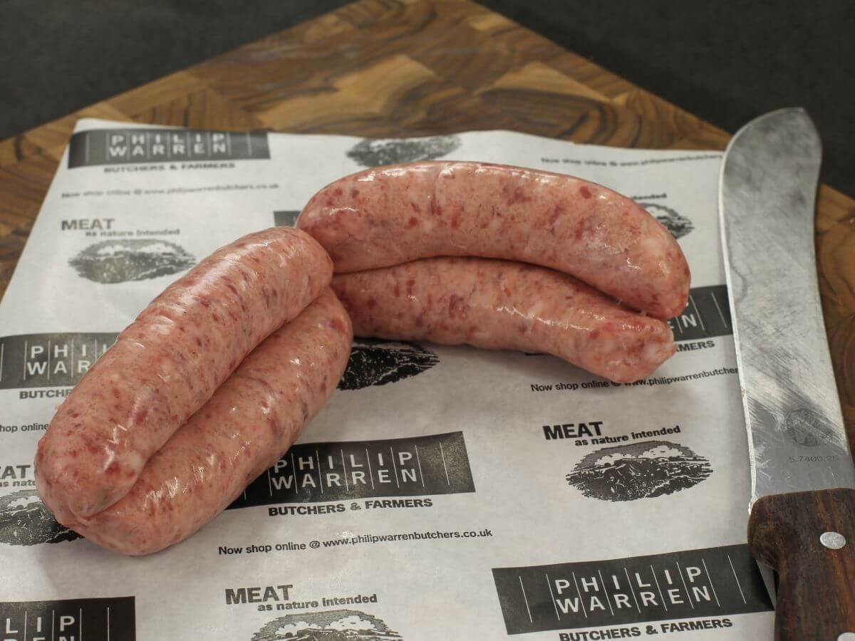 Farmhouse Chunky Sausages