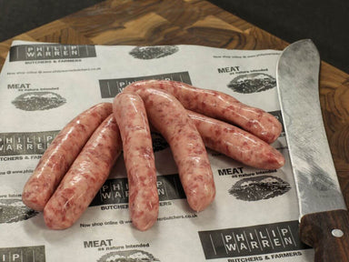 Warrens Original Chipolata Sausages