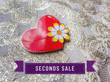 [Seconds] Blossoming Heart Pin