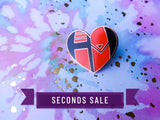 [Seconds] A Hunter's Heart Enamel Pin