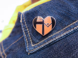 A Hunter's Heart Enamel Pin