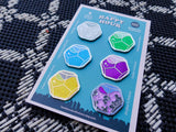 Limited Edition Tower Bar Engram Drink Pack of 6 Pins