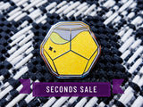 [Seconds] Limited Edition Sour Lemon Cabal Engram Drink Pin - Silver Plate Only