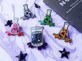 Limited Edition Spider's Lair Black Market Synth Potions 5 Pin Set