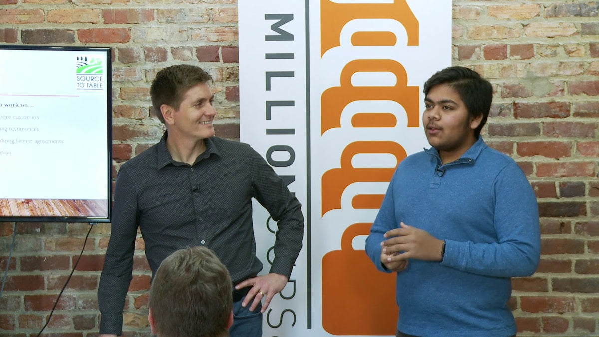 Source To Table Featured On One Million Cups