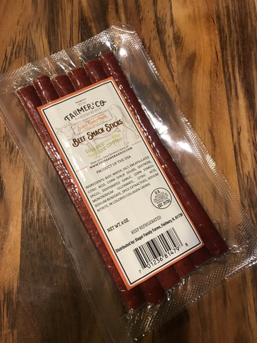 Slagel Beef Snack Sticks