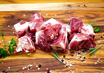 Lamb Bone-In Stew Meat - Source to Table