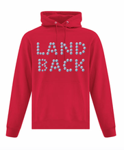 Load image into Gallery viewer, Land Back Button Hoodie - Bentwood Box
