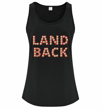 Land Back Tank Ladies - Bentwood Box