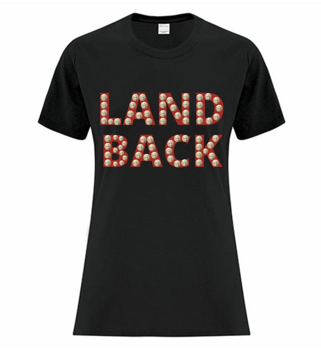 Land Back Tee Ladies - Bentwood Box