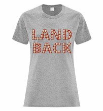 Load image into Gallery viewer, Land Back Tee Ladies - Bentwood Box