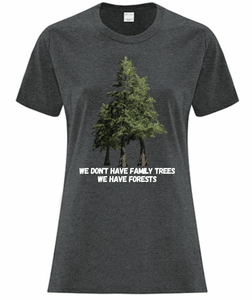 Family Forests Ladies Tee - Bentwood Box