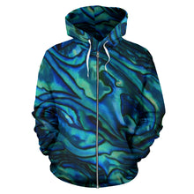 Load image into Gallery viewer, Abalone Zip-up Hoodie