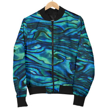 Load image into Gallery viewer, Abalone Bomber Jacket