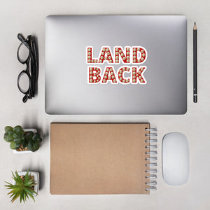 Land Back Sticker