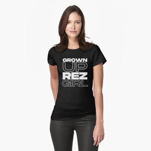 Grown Up Rez Girl Tee
