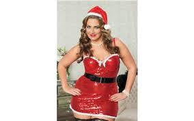 Naughty And Nice Santa Dress