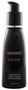 Wicked Ultra Silicone Unscented Lubricant 2 oz