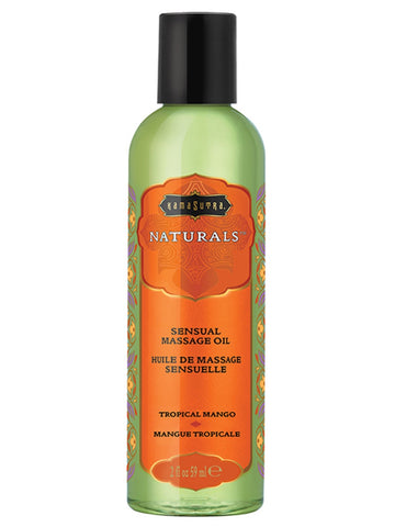 Kama Sutra Naturals Massage Oil Tropical Mango 2 fl oz