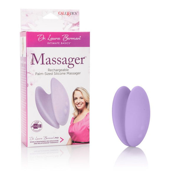 Dr Laura Berman Massager Palm-Sized Silicone Massager