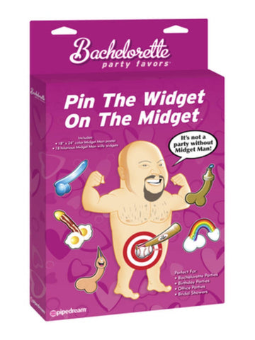 Bachelorette Party Pin the Widget on the Midget