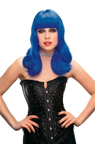 Pleasure Wigs Neon Perry Blue