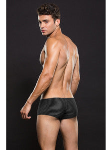 Envy Microfiber Trunk E040 Black/White Pinstripe