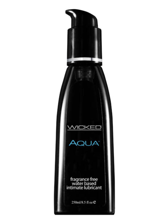 Wicked AQUA UnscentedLubricant 250ml