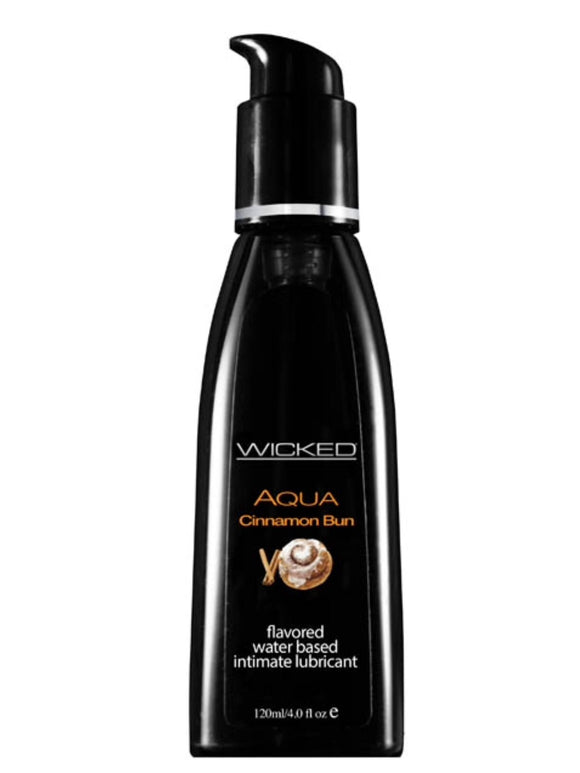 Wicked Aqua Cinnamon Bun 120ml