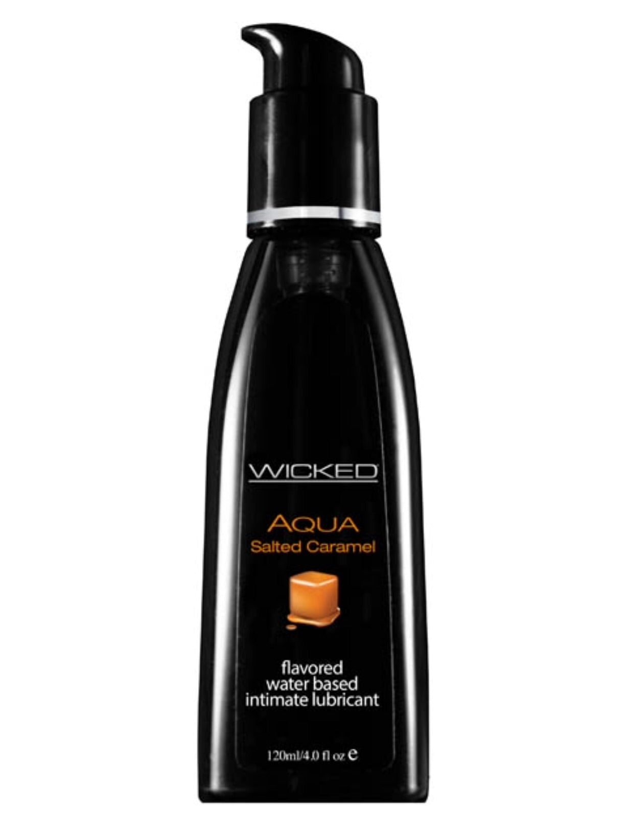 Wicked Aqua Salted Caramel Flavoured Lube 4oz