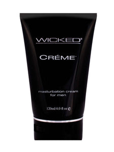 Wicked Creme to Liquid Masturbation Lube 4oz