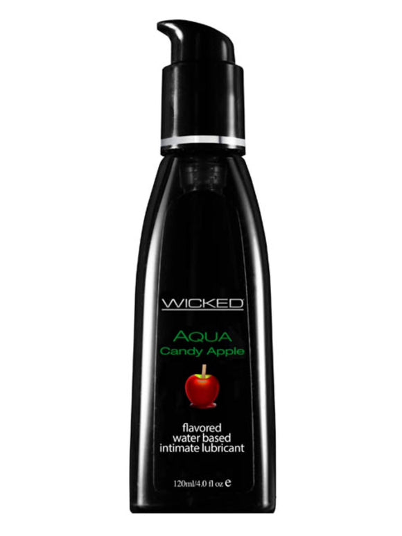 Wicked Aqua Candy Apple Flavoured Lube 4oz