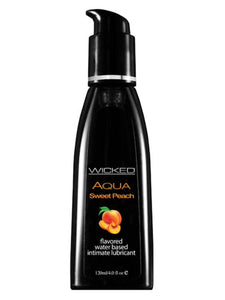 Wicked Aqua Sweet Peach 120ml