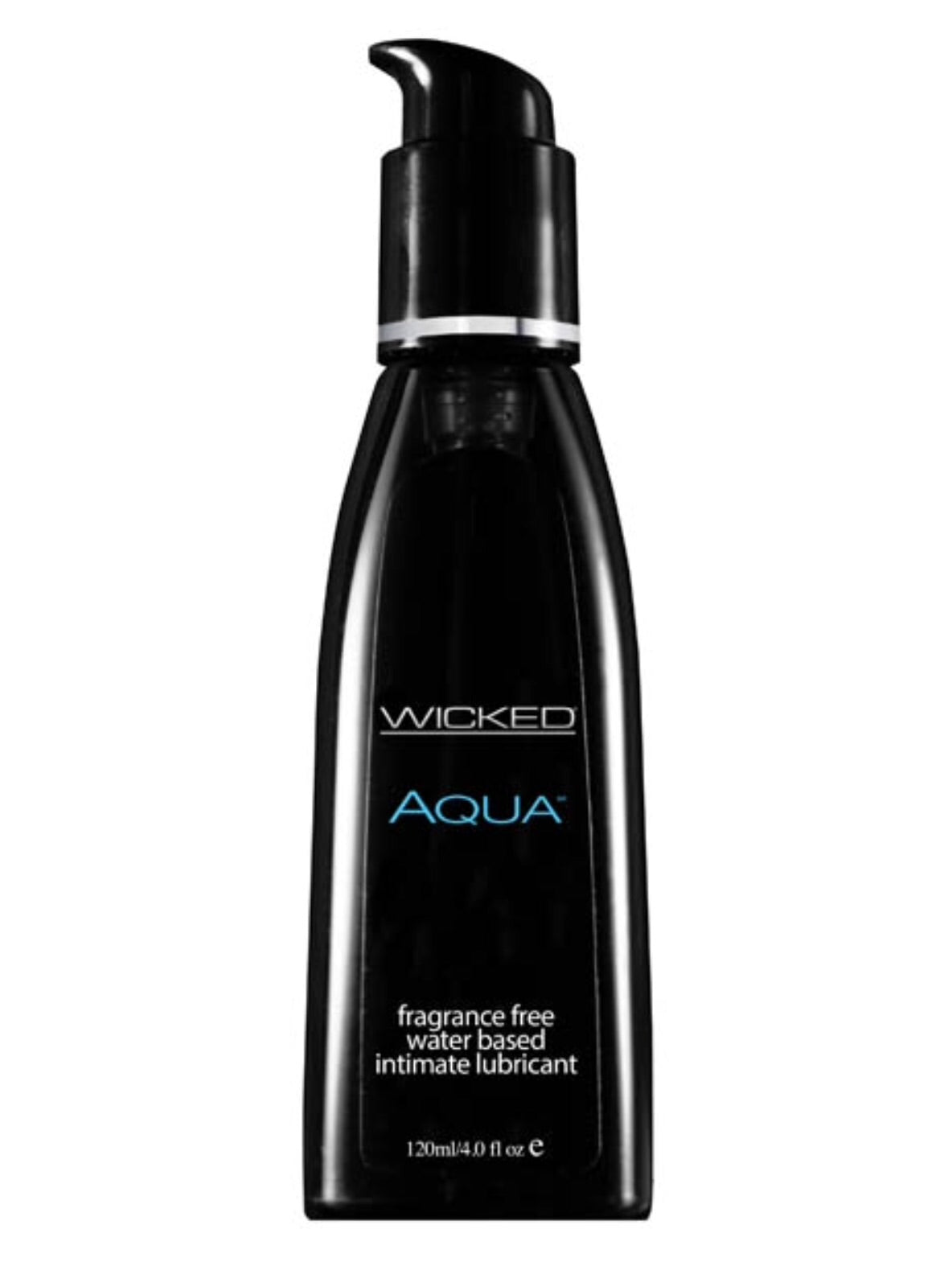 Wicked Aqua Unscented Lubricant 4 oz