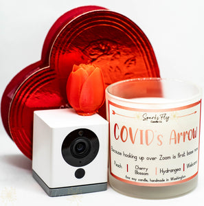 COVID's Arrow Soy Candle