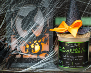 Resting Witch Face 6 oz Soy Candle-Sparks Fly Candle Co
