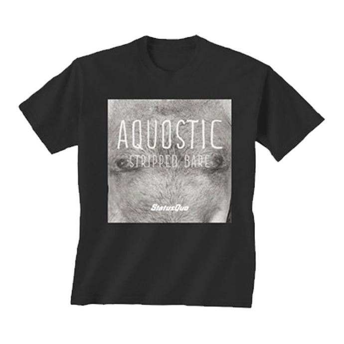 Aquostic Stripped Bare Tee
