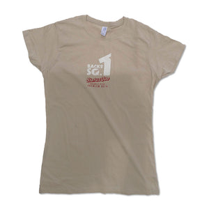 Back to SQ1 womens tour tee