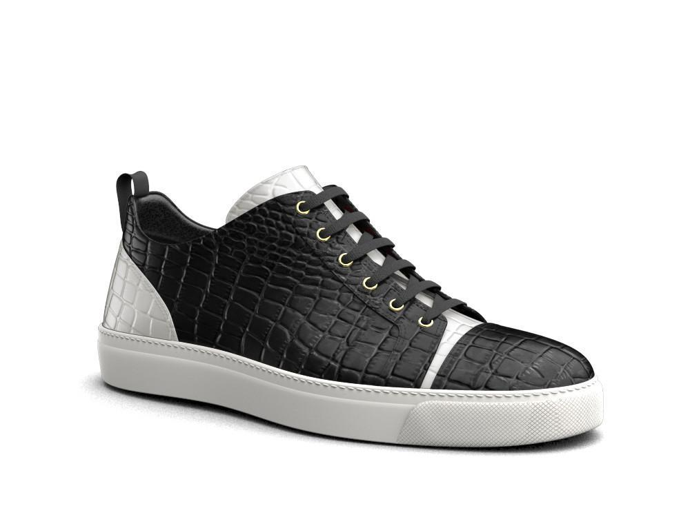 Pietro X Don Antelope Leather Low-Tops - Shoes